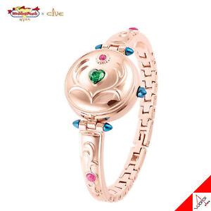 Clue x Hochzeit Pfirsich Angel Daisy St. Pendule Messing Uhr Armband Authentischen