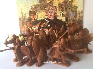 NOUVEAU! ingénieur basevich, 4 croisade, empire romain-BYZANCE, 12 en plastique de soldats 1/32