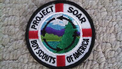 1971 PROJECT SOAR BSA Boy Scouts Patch C87T Vintage