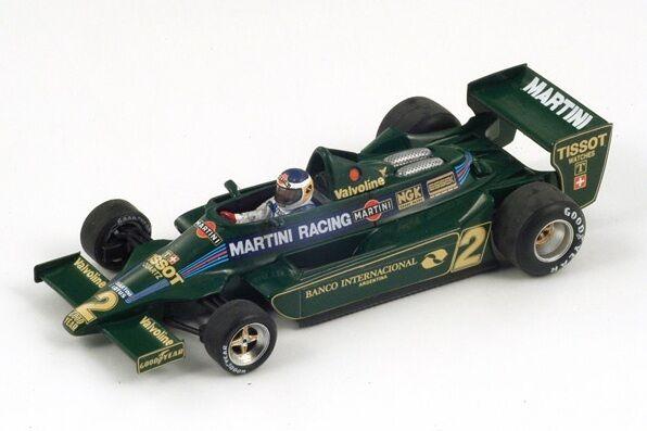 Lotus 79  2 C.Reutemann  GP Argentina  1979  Spark 1:43 / S1850
