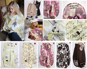 Fondant-Baby-2-in1-Breastfeeding-Covers-Nursing-Covers-5-patterns