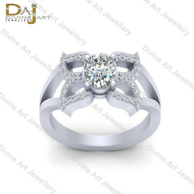 a1e1dcb22d81b Diamond Butterfly Engagement Ring Diamond Promise Ring Gift For Her Wedding  Ring | eBay