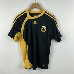AEK-Athens-Football-Shirt-Jersey-Youth-Size-XL-Adult-Small-Adidas-2006-Retro