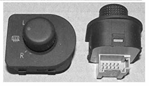 Commande de réglage de rétroviseur Skoda Octavia du 03//1997 au 12//2000