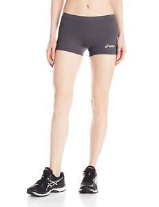 ASICS-Women-039-s-Low-Cut-Performance-Shorts-Steel-Grey-2X-Small