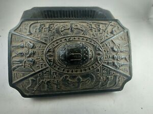 RARE-ANCIENT-EGYPTIAN-ANTIQUE-BOX-with-Scarab-BC