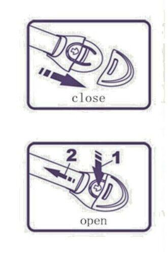 5x Schranksicherung Schrankschloss