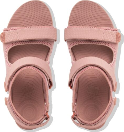 Sandals Neoflex Fasten Summer Dusky Strap Women Touch Ladies Back Fitflop Pink Rwd8qc