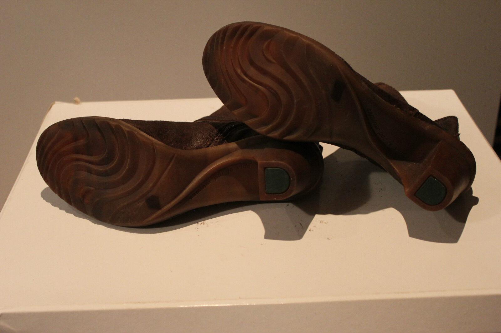 El naturalista super bonito marrón cuero genuino botines, botines, botines, talla 41, impecable 36d3e5