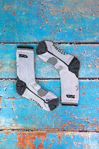 Storm Bloc 2 Pack Womens Cushioned Heavy Duty Cotton Hiking Boot Crew Socks