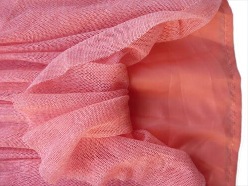 Zara Girls Skirt Mini Coral Mesh Skater Ballet Flippy Party Casual 3-4 4-5 13-14