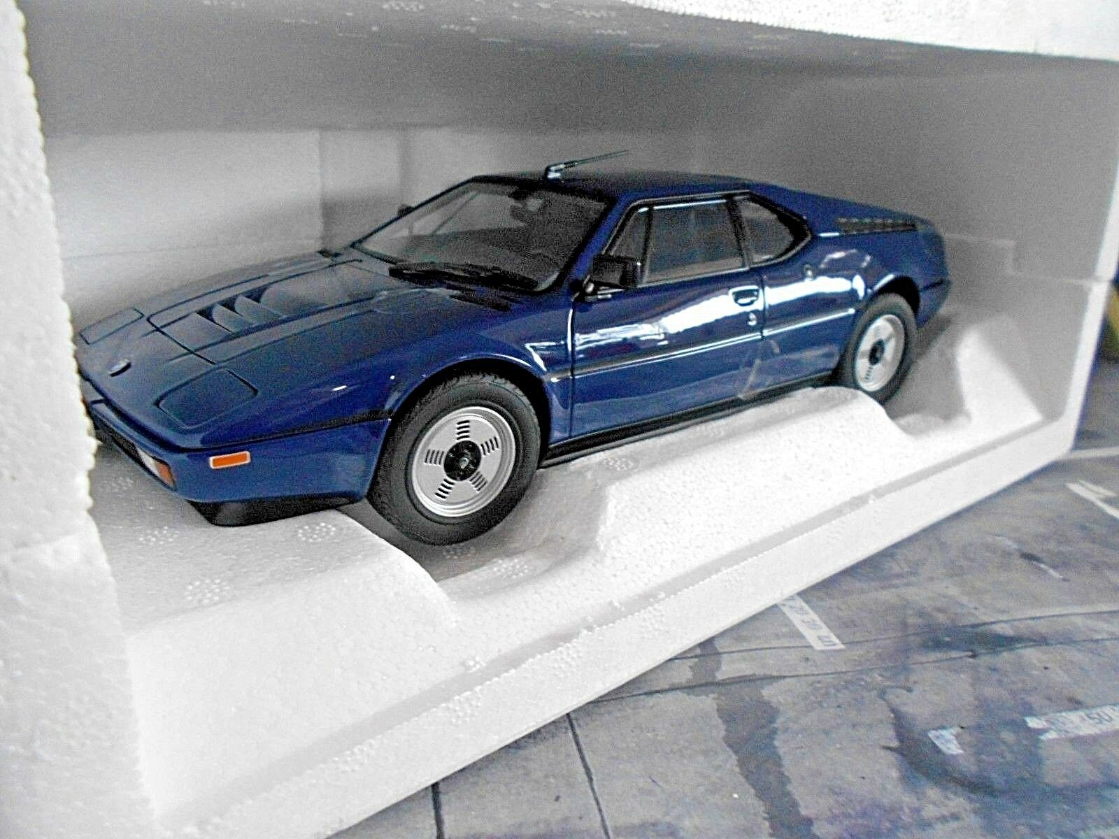 BMW m1 Super Sports Car bluee 1980 NOREV HQ NEW NEW 1 18