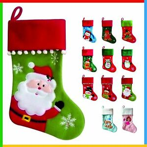 Details About Personalised Christmas Stocking High Quality Deluxe Xmas Stockings Add Your Name