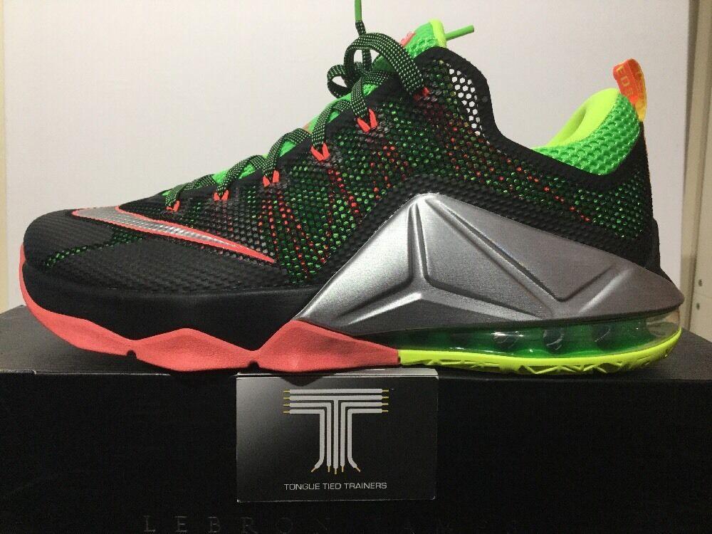 Nike Lebron XII 12 Low Remix  724557 003. U.K. Größe 6