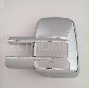 Driver-Side-Scratched-Chrome-Mirror-Cover-for-Chevy-Silverado-GMC-Sierra-2500-HD