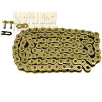 520 Gold Chain 102 Links For Yamaha Sr250 Exciter Suzuki Lt250 Lt250r Quadracer
