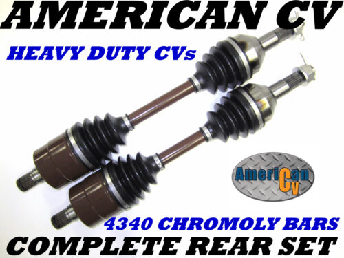 2011-2012 CAN-AM RENEGADE 500 4X4 REAR EXTREME OFF ROAD ATV CV JOINT AXLE SET