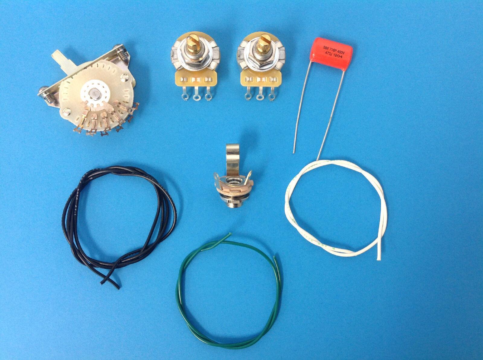 Tele 4 vías cableado cableado cableado del interruptor kit de piezas de guitarra Telecaster 4  gran venta