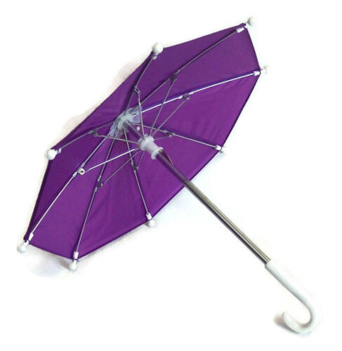 "Purple Umbrella fits 18/"" American Girl Doll Clothes Accessories"