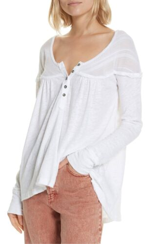 NWT Free People Down Under Henley Top Retail $68