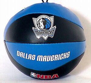 Dallas Mavericks d'installé Souple Soft basket-ball, 4 pouces Taille, NBA, fan pour pendre  </span>