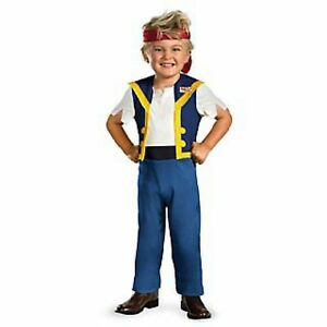 Disney Jake Never Land Pirates JAKE Costume size 3-4 T New 3-4 Toddler