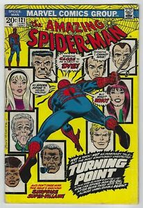 Amazing-Spider-Man-121-1973-Marvel-Death-of-Gwen-Stacy-Gerry-Conway-VG-VG