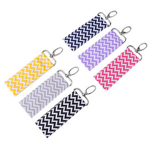 Wave-Wristlet-Lip-Balm-Key-Ring-Lipstick-Chapstick-Key-Chain-Holder-Gift-COOL