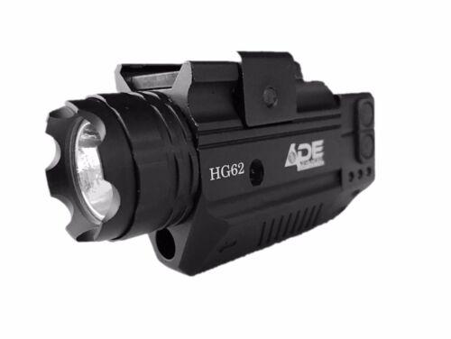 sr9 walther ccp pk380 sr22 Pistol Strobe Green Laser+Flashlight for Ruger 9 e