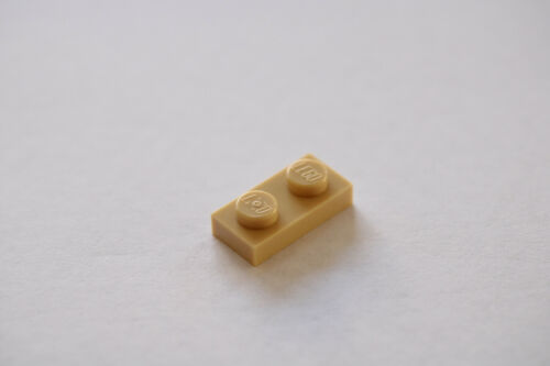LEGO® Tan Plate 1 x 2 Part No 3023
