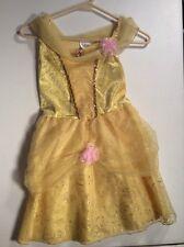 BELLE Princess Dress Up Gown Disney Store Sz 7/8 7 8