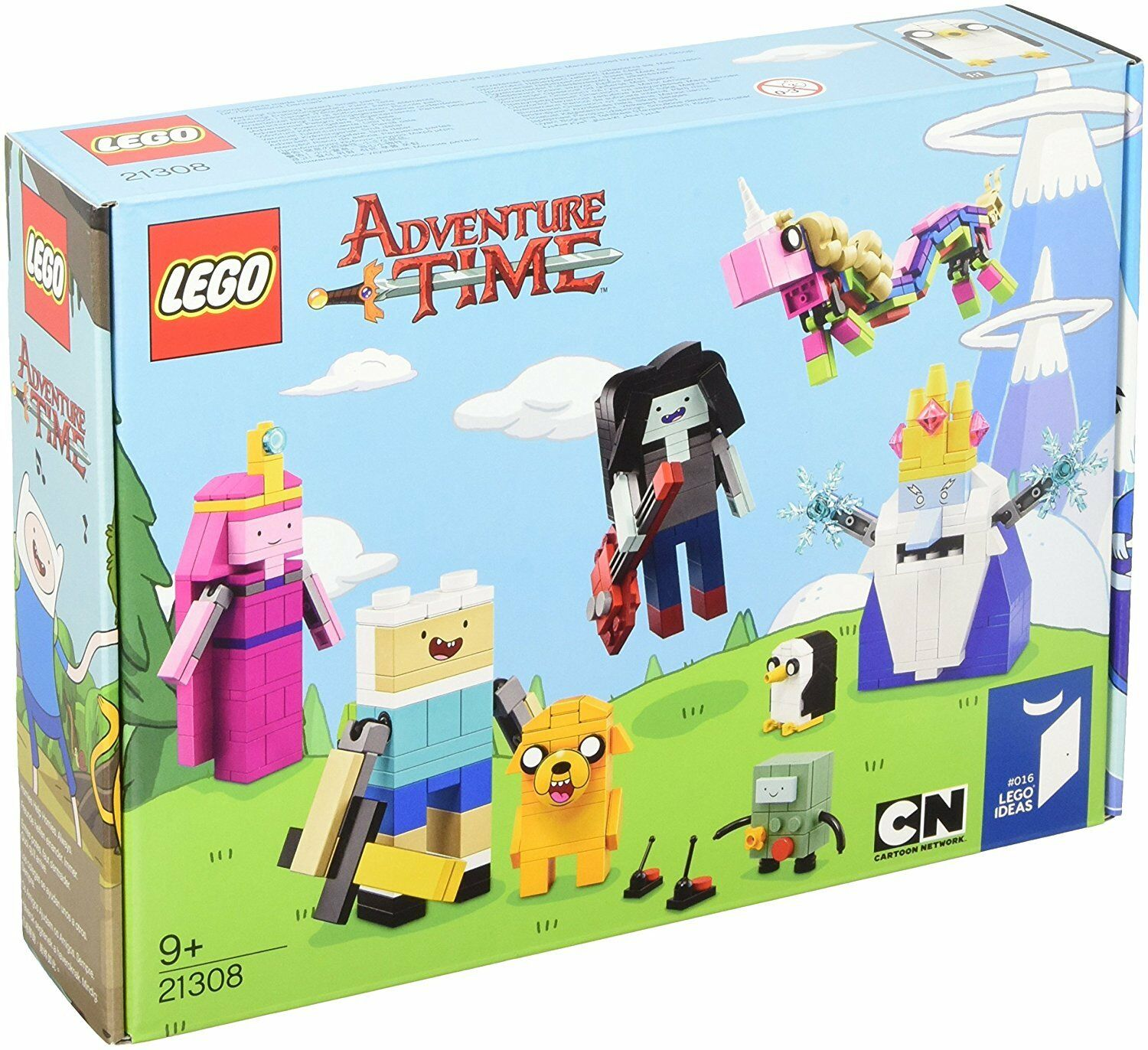 LEGO Ideas 21308 Adventure Time Abenteuerzeit mit Finn Jake Cartoon Network