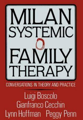 Milan Systemic Family Therapy: Conversations in Theory and Practice-ExLibrary