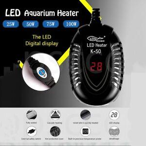 New-Aquarium-Fish-Tank-DEL-Digital-Chauffage-Submersible-Thermostat-US-Plug