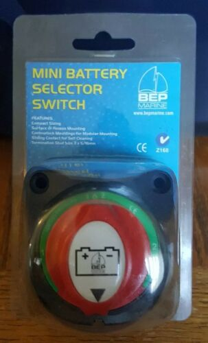 BEP MARINE MNI BATTERY SELECTOR SWITCH BC 701S NEW