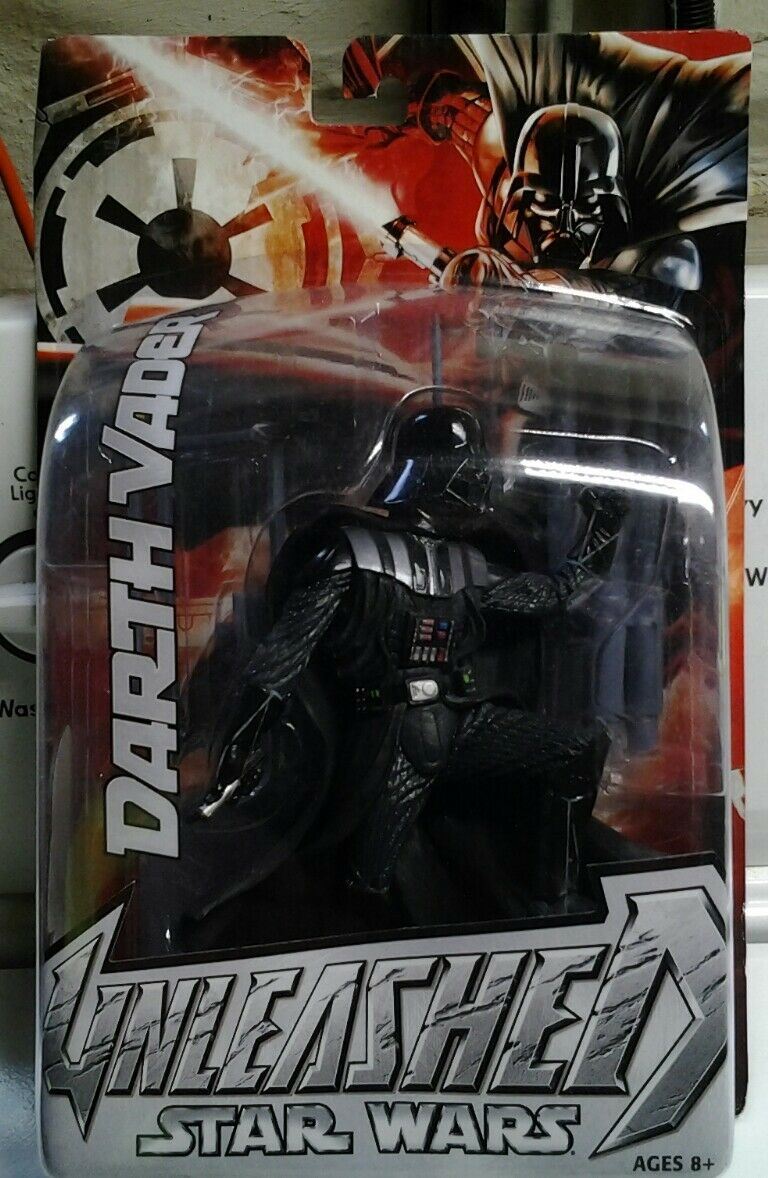 Star Wars Unleashed Darth Vader 1st Edition- NEW NEW NEW - FACTORY SEALED b95092