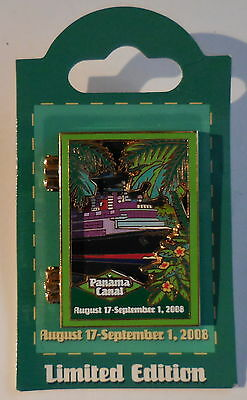 Disney Cruise Line DCL 2008 Panama Canal East Bound Hinged Pin LE 1500 NEW