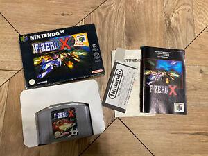 F Zero X ~ Nintendo 64 N64 Pal En Caja Y Completo Coleccionistas