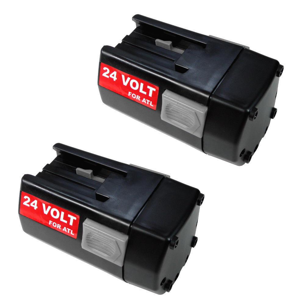 2x Power AKKU 24V 3300mAh Battery ersetzt AEG Milwaukee 4932399025 BBH24