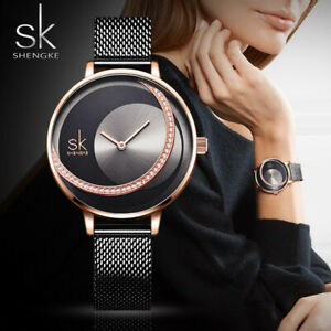 4683850fc Reloj De Cuarzo Marca De Lujo Para Mujer Pulsera De Moda Delgado ...