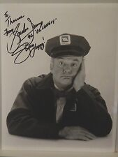"AUTOGRAPHED  8"" x 10"" B&W  PHOTO OF >>GORDON JUMP>> AMERICAN ACTOR"