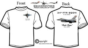 Rude Rams T-Shirt F-16 34th FS Long or Short Sleeve