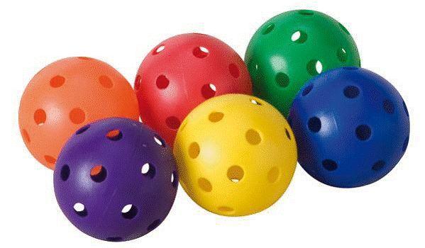 5 DOZEN DOZEN DOZEN MULTI COLorojo  QUALITY PLASTIC TRAINING-PRACTICE BASEBALLS & FREE BUCKET 5226b9