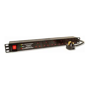 Dynamode-6-Way-Horizontal-13A-Switched-19-Inch-Power-Distribution-Unit-with