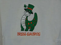 Irish-saurus Toddler Embroidered Shirt Size 3