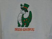 Irish-saurus Toddler Embroidered Shirt Size 3