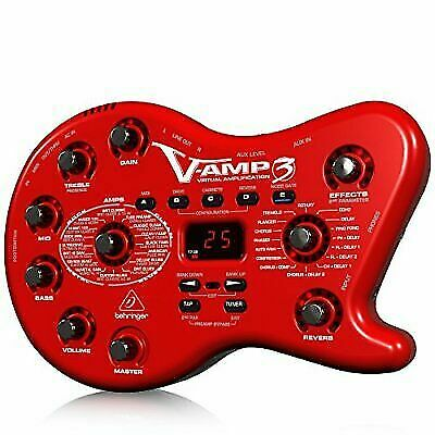 behringer vamp3 multi effects guitar effect pedal for sale online ebay. Black Bedroom Furniture Sets. Home Design Ideas