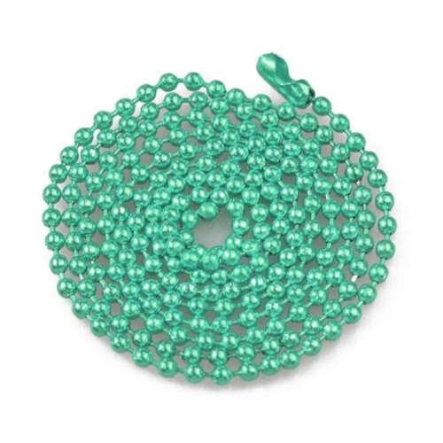 "18 Color 70cm//28/"" U Pick Ball Chain Necklace Bead Connector 1.5//2.4mm Wholesale"
