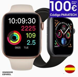 Detalles de NEW Smartwatch IWO 8 (up Iwo6). Ios Android .Reloj Iwo8 Similar Apple IWatch 4.