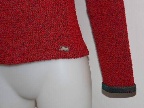 Jersey Sweater Tipo Xs L Sm Marianne Sweatshirt Fornarina Boucle' Stitch Red ikZPuXO